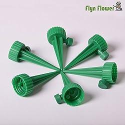 FLYN FLOWER | Bewässerungssystem zur Pflanzen Bewässerung Und Blumen Bewässerung (6 Waterspikes) | Ideale Wasserversorgung für Ihre Pflanzen Und Blumen Während Ihrem Urlaub