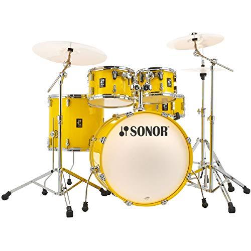 Sonor AQ1 Stage Set Schlagzeug Lite Yellow Drum-Set