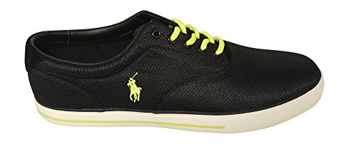 Polo Ralph Lauren Men s Vaugh Mesh Sneaker Black 13 D(M) US