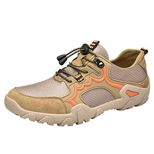 Selou- Scarpe Da Uomo, 2019 Primavera/Autunno Novità Moda Uomo Scarpe Traspiranti In Mesh Scarpe Da Trekking Vuote Scarpe Da Passeggio Antiscivolo Sneakers Da Esterno