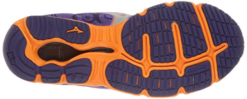 Mizuno Wave Hitogami Stoff Laufschuh Purple/Orange