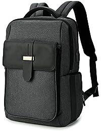 Waterproof Mens Sling Bag with USB Charging Port Chest Shoulder Cross-Body Bags,Multipurpose Daypack IPad Rucksack