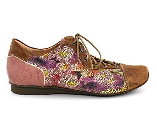 Think!  0-80110-54, Chaussures de ville à lacets pour femme Beige