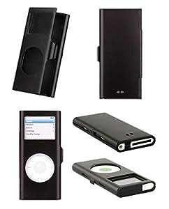 ASleek Hybrid Lila und Schwarz -Rüstungs-Kasten -Abdeckung für Apple iPod Touch 4. Generation 4G