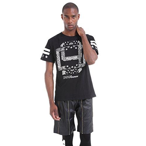 camiseta-de-corte-skater-holgado-con-estampado-de-bandana-en-el-canesu-de-pizoff-unisex-t-shirt-y067