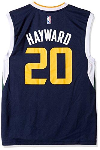 adidas NBA Utah Jazz Gordon Hayward # 20Herren Replica Jersey, Herren, 7818-Men-Road, Road, xl (Jersey Elite Sleeveless)