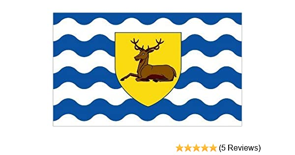 100/% Polyester With Eyelets Gloucestershire Old Flag 5 x 3 FT Flag English