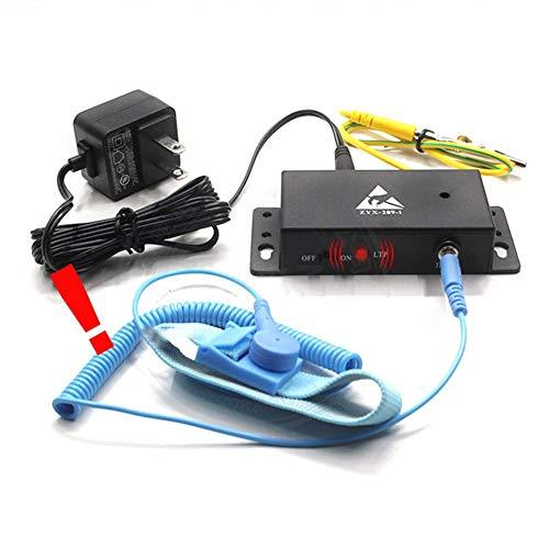 istary Auto-Alarm Anti Static ESD Handschlaufe Tester One Ausgang Anti-Statik Online-Monitor Für Anti-Statik Elektronische