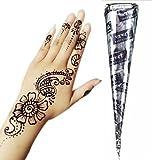 GENERIC Black Herbal Henna Cones Tempora...
