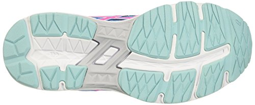 Asics Kinder-Unisex Gt-1000 5 Gs Turnschuhe Mehrfarbig (Diva Blue/pink Glow/aqua Splash)