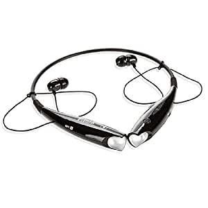 Mobilefit v4.0 Wireless Bluetooth Headset/Stereo Headphone (blk) with Calling and Vibrate Alert Compatible for Nokia ORO C7-00
