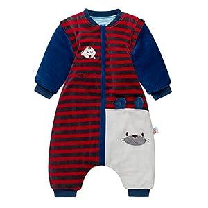 Sacos de Dormir para Bebés 3.5 Tog – Mantas para Niño Mangas Extraíbles Rayas Diseño para 9-24 Meses