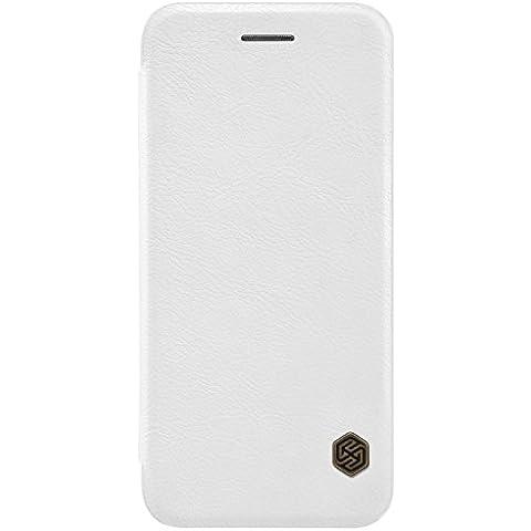 Nillkin ip7-qin-white funda de piel Para iPhone 7, Blanco