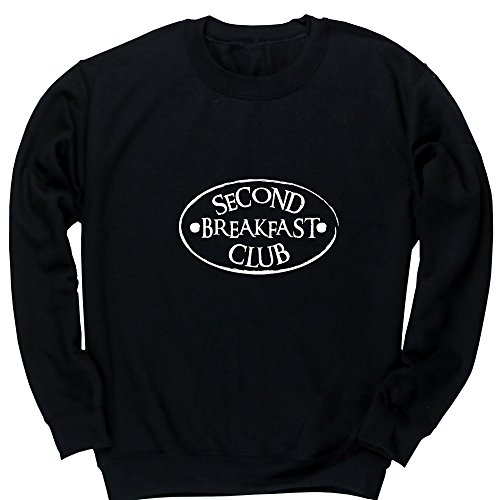 Hippowarehouse Second Breakfast Club Kids Children's Unisex Jumper Sweatshirt Pullover