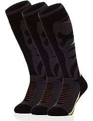 Ladeheid Hombre Calcetines de Esquí Calcetines Deportivos 518V1