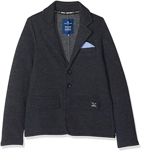 TOM TAILOR für Jungen Strick & Sweatshirts Sweat-Blazer Vulcan|Gray, 116/122