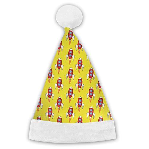 Zhgrong Dalmatiner Hund Muster Erwachsene & Kinder Weihnachten Weihnachtsmann Mütze Party Supplies Kostüm Weihnachtsdekoration
