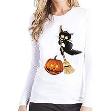 Yesmile Mujer Camisetas❤️Las Mujeres Camisa Camisa de Manga Larga de la Camiseta de la