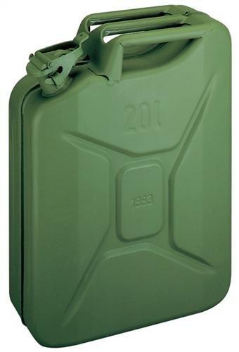 STAHLBLECH-BENZINKANISTER 5 Liter Olivgrün