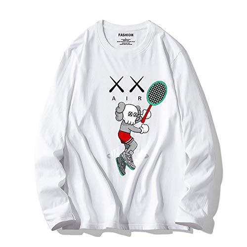 YX Sweatshirt Pullover Sesame Street KAWS Männer Und Frauen Pullover Beiläufige Lose Baumwolle Rollkragen Paar 12-M 12m Sesame Street