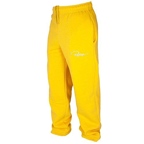 Redrum Unisex Jogginghosen »Plain« Gelb