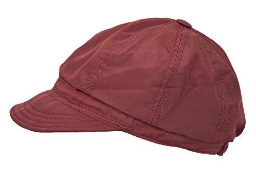 Peter Rutz accessoires Peter RUTZ Regenmütze Schirmmütze mit Fleece (Bordo)