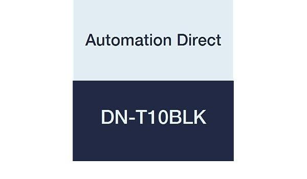 automationdirect dn-t10blk Anschluss single-level Terminal Block, 10 ...