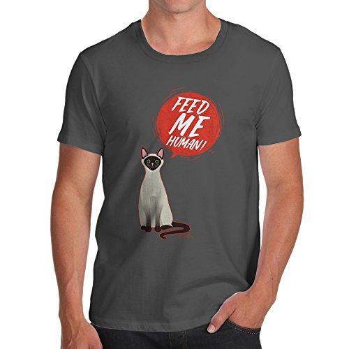 T-Shirt Gr. Large, dunkelgrau ()