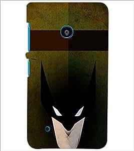 PrintDhaba Batman D-4963 Back Case Cover for NOKIA LUMIA 530 (Multi-Coloured)