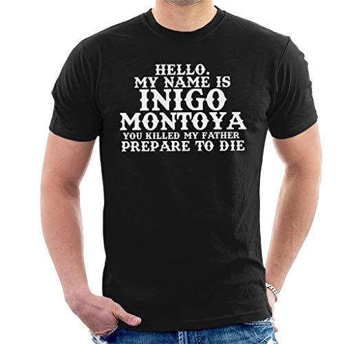 ontoya Quote The Princess Bride Men's T-Shirt ()