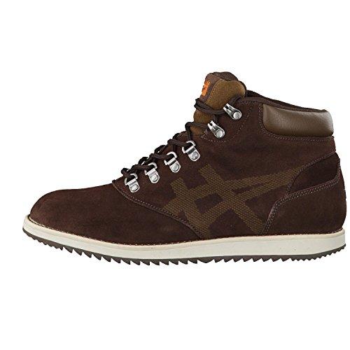 Onitsuka Tiger, Sneaker uomo Marrone (Dark Brown/Mid Brown)