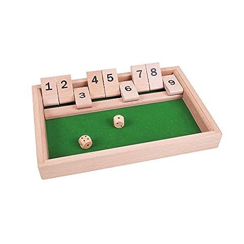 Bigjigs Toys Shut-The-Box-Würfelspiel