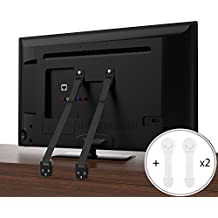 CALISH Anti-Tip TV / Furniture Straps Heavy Duty Strap and All Metal Parts, Long VESA Screws to Fit Latest TVs, with Child Drawer Safety Locks(2 pcs)