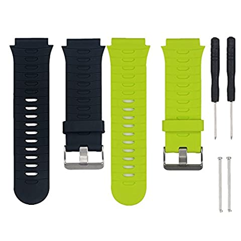 WEINISITE Silicone Bracelet de Remplacement pour Garmin Forerunner 920XT (#1, Unique taille)