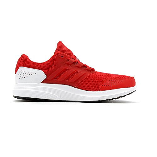 adidas Galaxy 4, Chaussures de Running Compétition Homme Rouge (Scarlet/scarlet/footwear White)