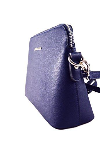 Flora & Co by Nanucci, Borsa a tracolla donna Bleu Marine