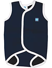 Splash About Baby Wrap - Traje de neopreno para niños, color azul marino/blanco, 18-30 meses