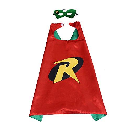 Kinder-Umhang mit Superhelden-Muster, Hammer Robin, für Jungen und Mädchen, ()