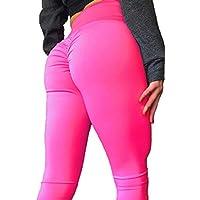mlfyrs Yoga Pantalones, Polainas de Entrenamiento Deportes para Mujer Pantalones, Yoga y Ejercicio