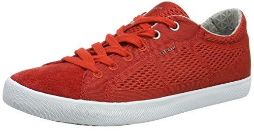 Geox Herren U Smart B Sneakers Rot (RED/REDC7015)