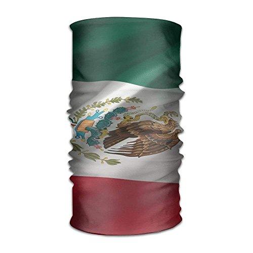 deyhfef s Mexican Flag Outdoor Magic Bandana Headband UV Resistence Multi Function Headscarf for Running Yoga Sports Unisex Outdoor8