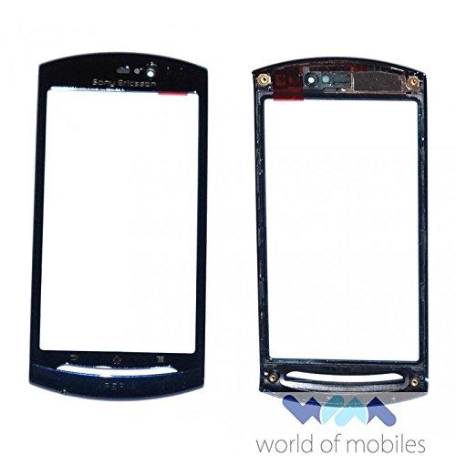 Sony Ericsson Xperia Neo MT15i, Xperia Neo V MT11i Gehäuse Rahmen, Front Cover, Blau, Blue -