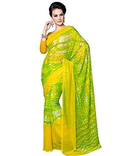 VINTAGE Girls cotton saree(VINTAGE O29_multi colour_Freesize)