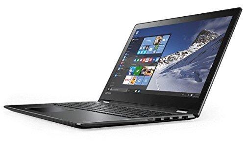 Lenovo Flex 4 80SA0003US 2-in-1 Laptop/Tablet 14.0 inches Full HD Touchscreen Display (Intel Core i5, 8 GB RAM, 1TB HDD, Windows 10 Home), Black