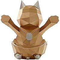 Tissue Storage box Tissue-Box kreative Tissue-Box Glück Katze Tissue-Box Haushalt Tablett Wohnzimmer Couchtisch Tablett Desktop-Multifunktions-Fernbedienung Aufbewahrungsbox Papierhandtuch Aufbewahrun