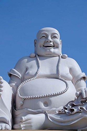 Cindy Miller Hopkins/DanitaDelimont - Big Happy Buddha statue My Tho Vietnam Photo Print (41,45 x 62,59 cm)