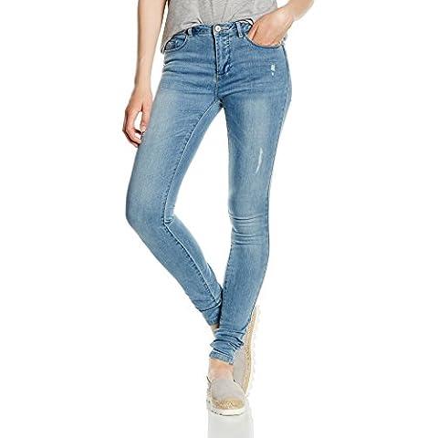 Only Onlultimate Reg Sk Dnm Jeans Bj6676 Noos, Blu Donna