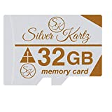 Silver Kartz 32GB SK A_Plus Memory Card for Mobiles; Tablets; Digital CCTV Drone Cameras and Other Micro Slots (skmc32gb)