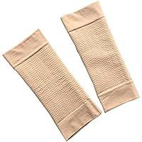 ROSENICE 1 Paar Arm Former schlanker Arm Elastische Kompression Armstulp für Sport Fitness (Hautfarben) preisvergleich bei billige-tabletten.eu