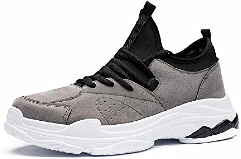 GLSHI Männer Mesh Breathable Travel Schuhe New Casual Lace up Sport Laufschuhe Leichte Wanderschuhe